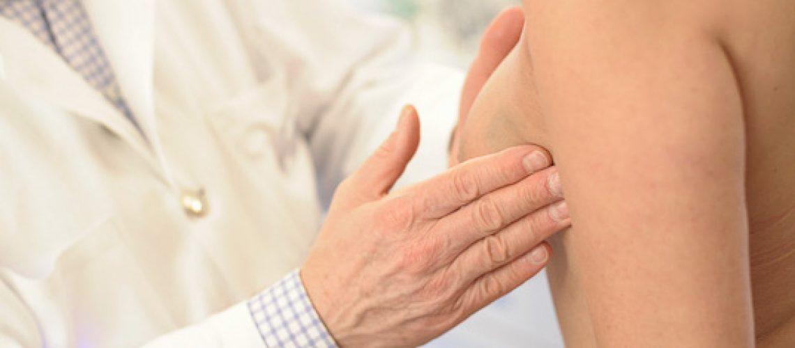 Brustkrebs Vorsorge Abtast Untersuchung